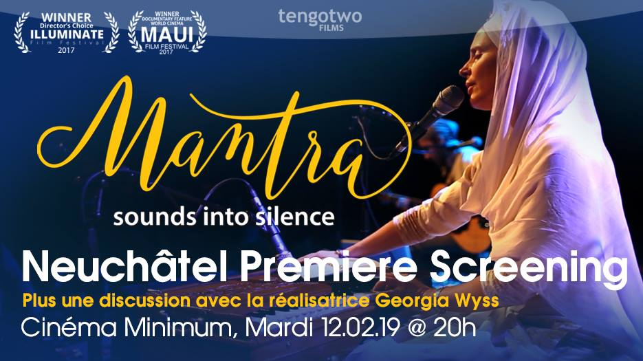 Mantra sounds into Silence – Neuchâtel premiere screening
