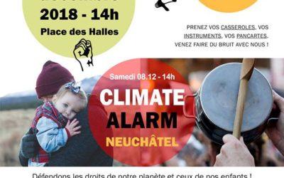 Climate alarm Neuchâtel