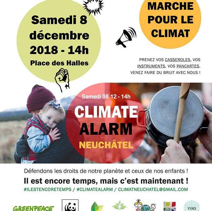 Marche climat Neuchâtel décembre 2018