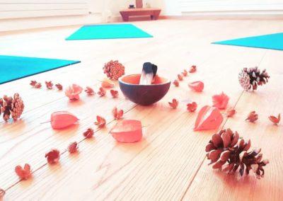 Mandala - automn - yoki - cours de yoga - neuchatel