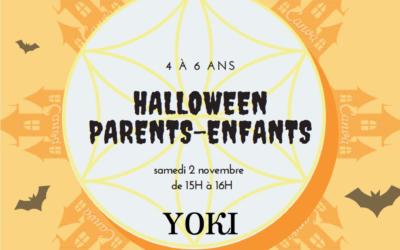 Atelier Halloween – parents-enfants de 4 à 6 ans – samedi 2 novembre